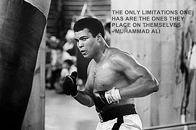 Muhammad Ali   The Only Limitations