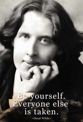 Oscar Wilde Quote   Be Yourself