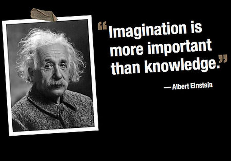 Beautiful Albert Einstein Quote On Imagination