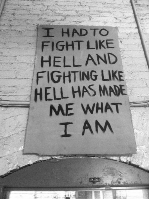 Depression quotes   Fight Like Hell
