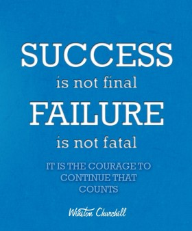 Success Is Not Final