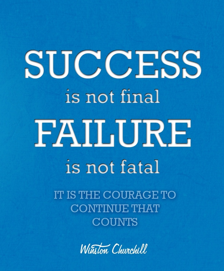 Winston Churchill Success Quotes Inspirational