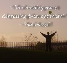 Paul Fussell depression quote