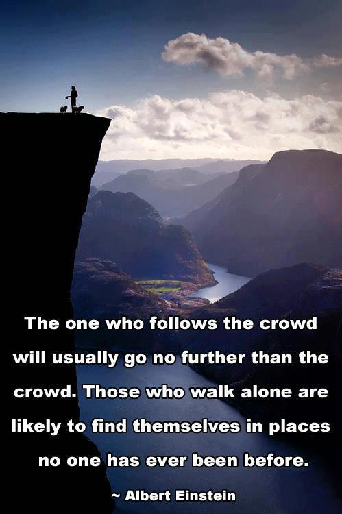 Albert Einstein Quotes   Follow the Crowd