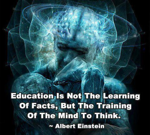 Albert Einstein Education Quotes