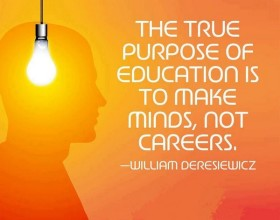 True purpose of education